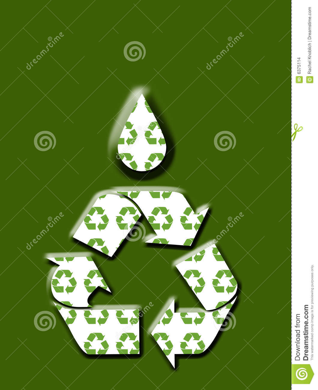 Go Green Recycle Background Stock Images - Image: 6375114