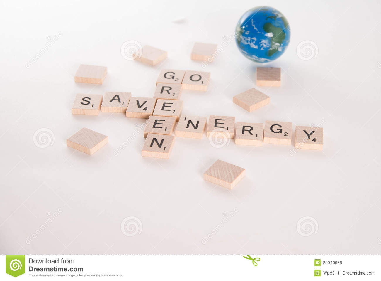 ... Green Save Energy Concept Royalty Free Stock Photos - Image: 29040668
