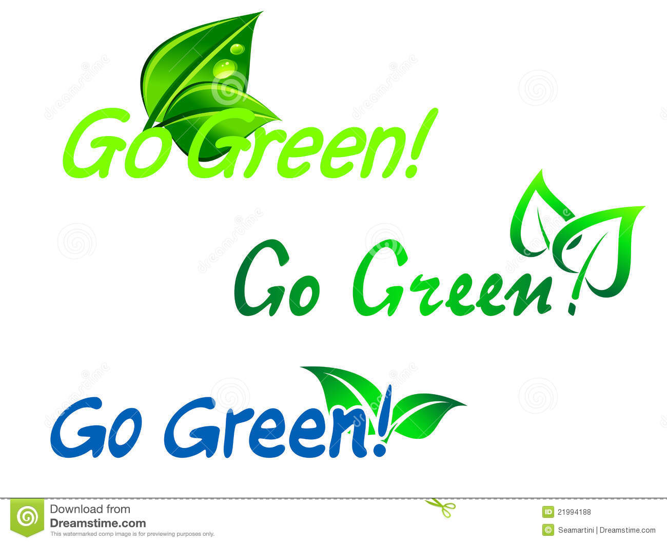 go green clip art pictures - photo #32