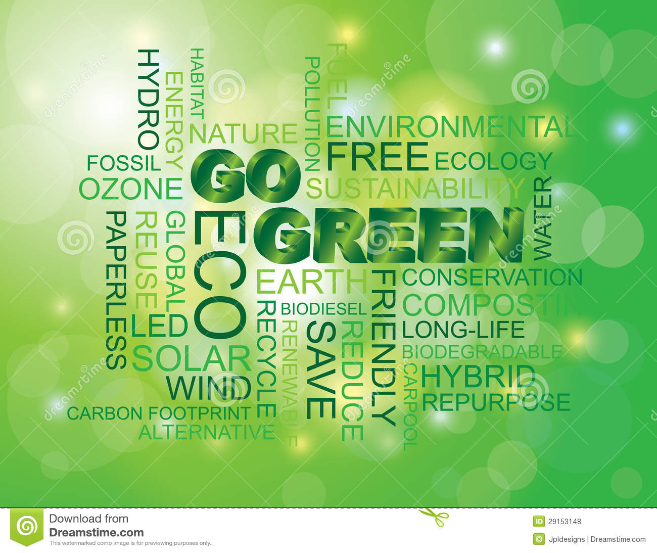 going or glowing green Going green in the workplace is a new trend in business in choosing to go green in the workplace you may be challenged by an elevated initial start-up costs, however savings earned from this investment will more than pay for those initial costs in the future many people see this as a controversial .