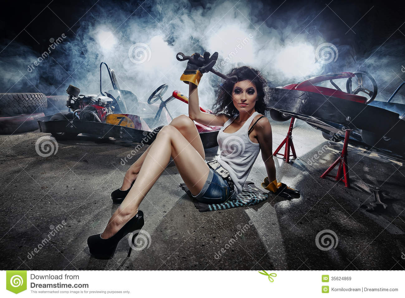 Go-kart Royalty Free Stock Images