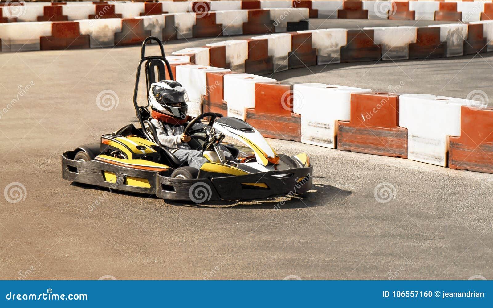 Go Kart, Karting Speed Rival Outdoor Race Opposition Race, Racing
