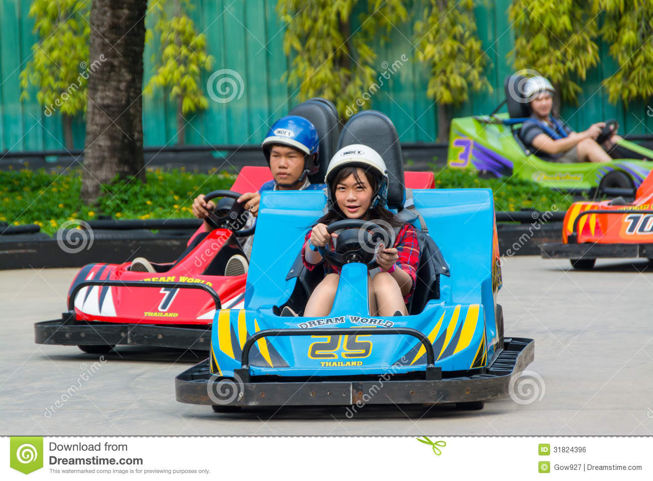kart thailand Go kart Race In Dream World, Thailand Editorial Photo   Image of