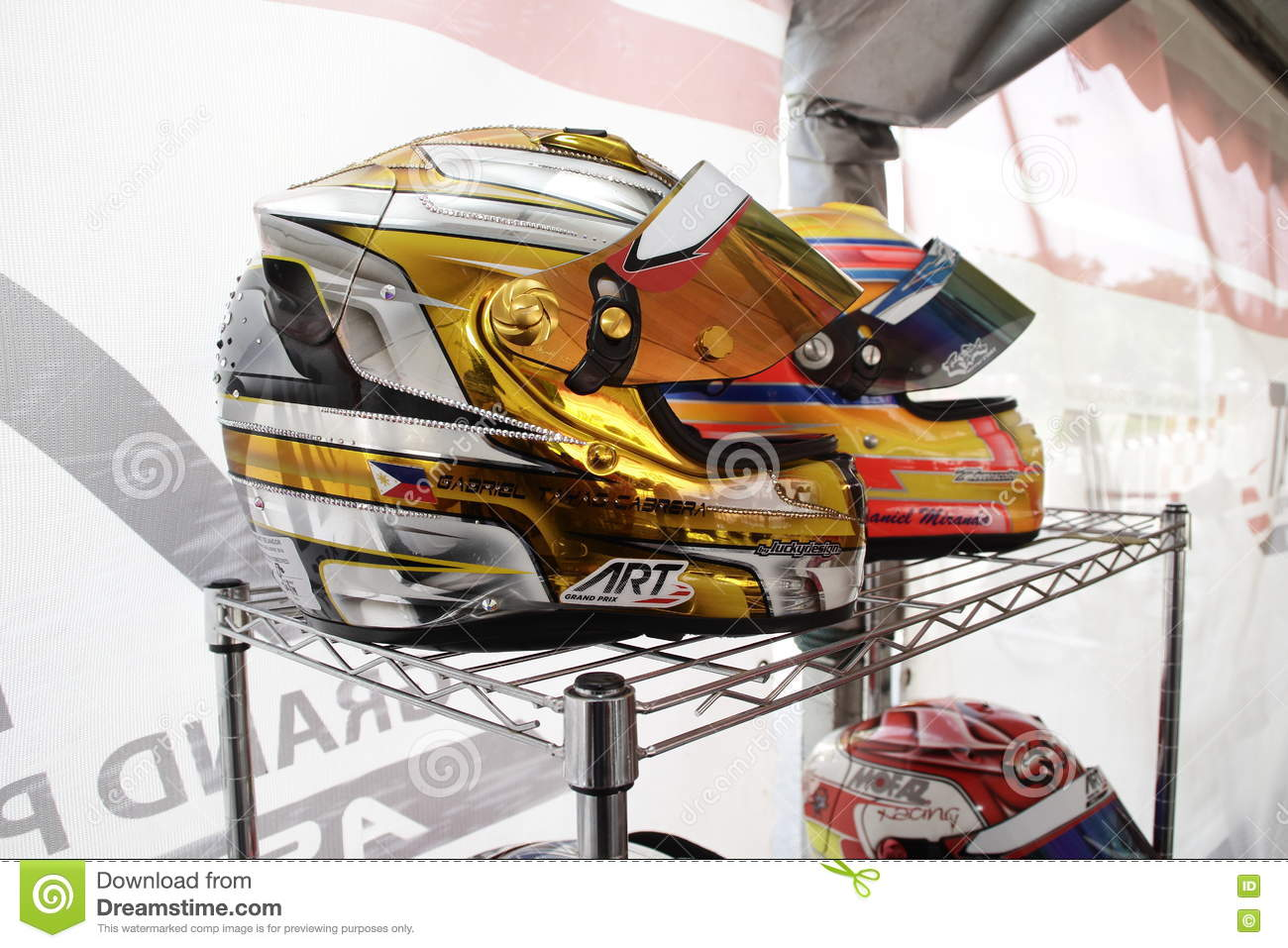 Go kart racing sports editorial stock photo  Image of speedway