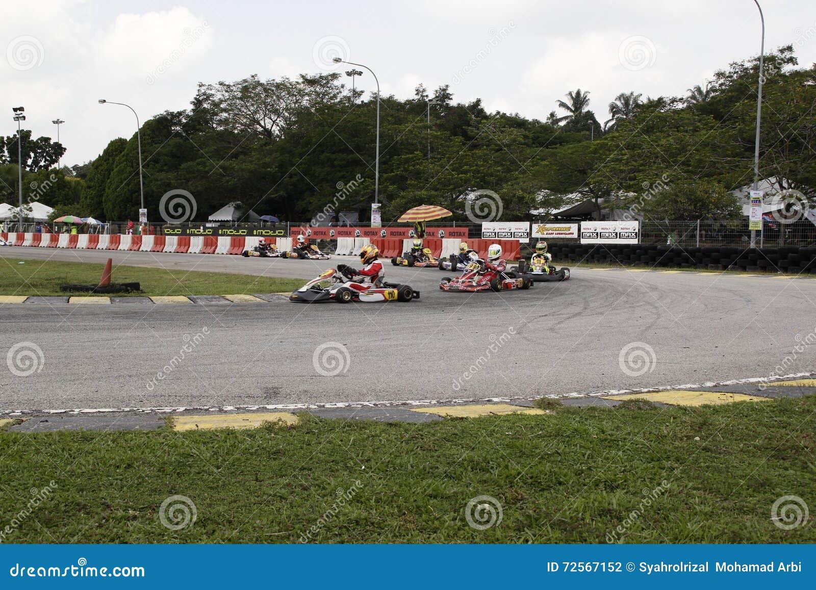 Go kart racing sports editorial photography  Image of subang - 72567152