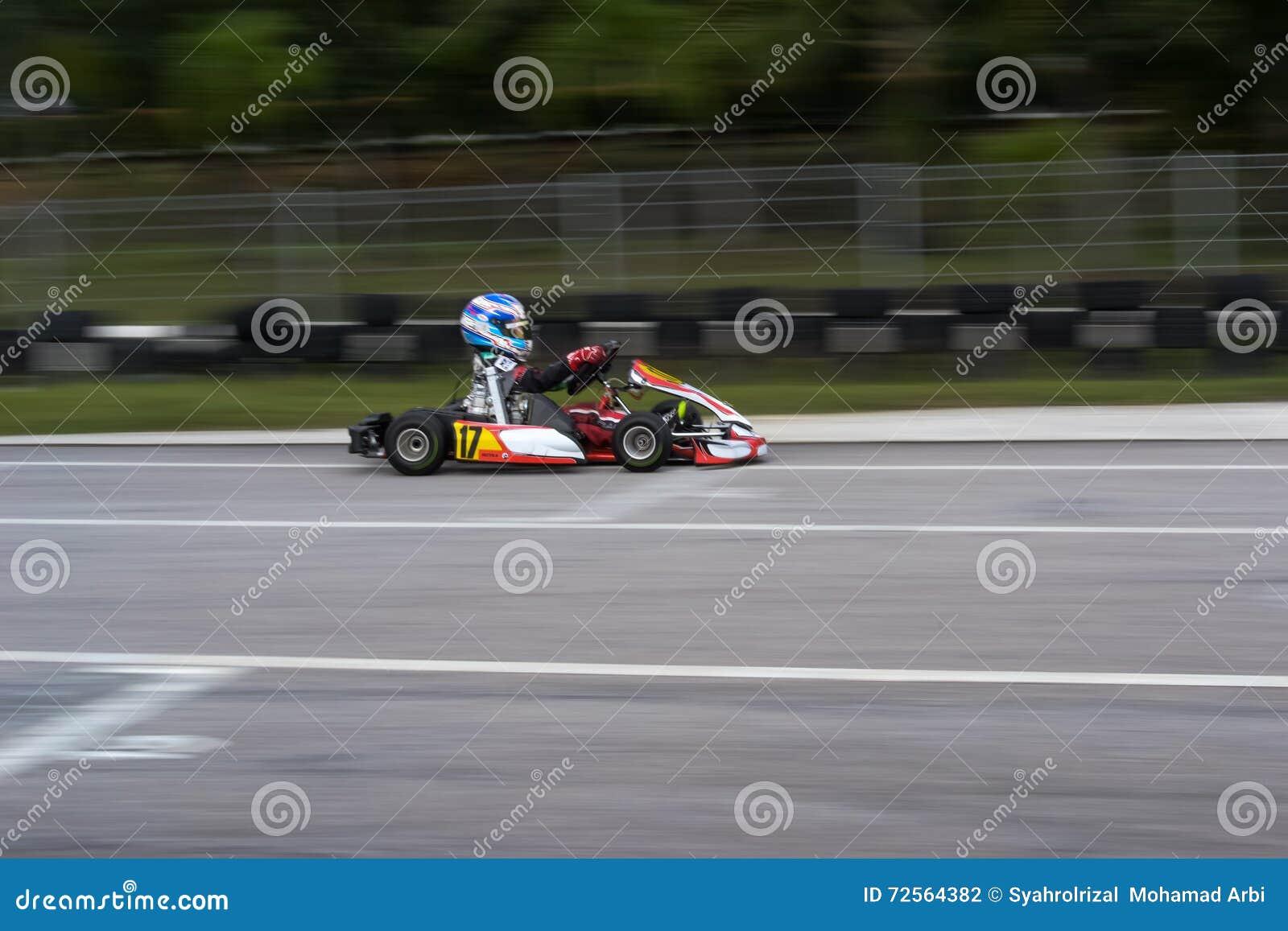 Go kart racing sports editorial photography  Image of racing - 72564382