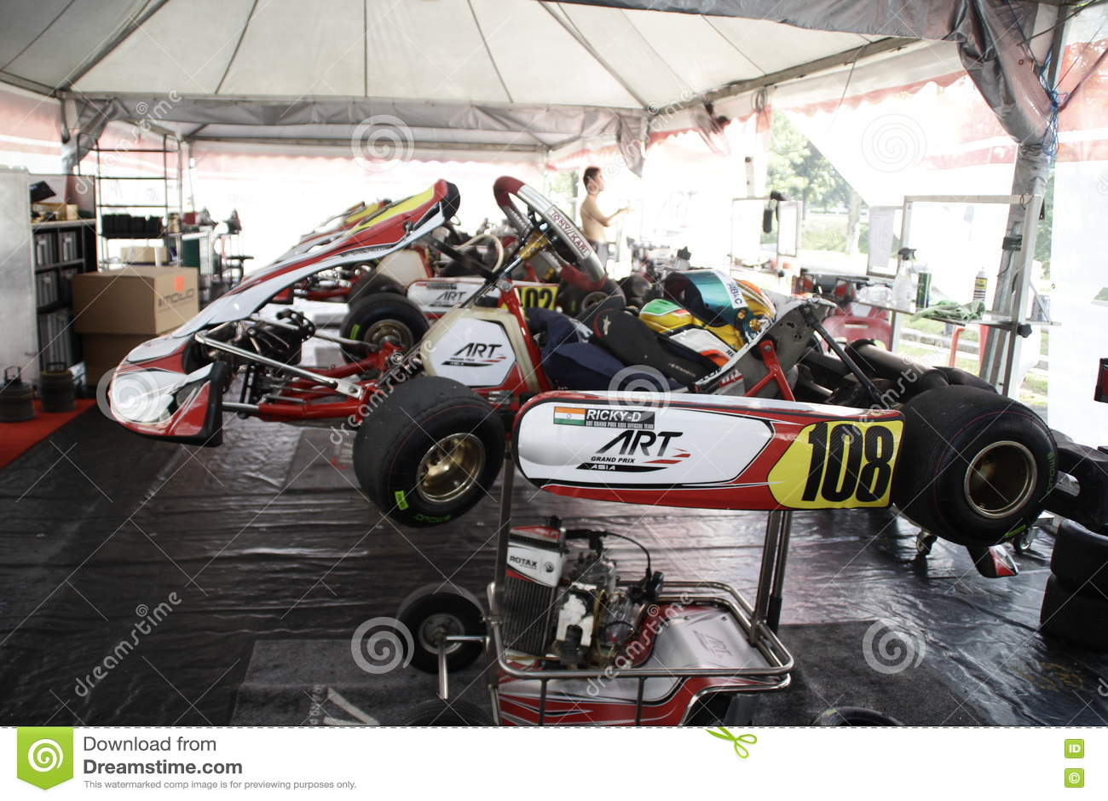 Go kart racing sports editorial photography  Image of kart - 72565667