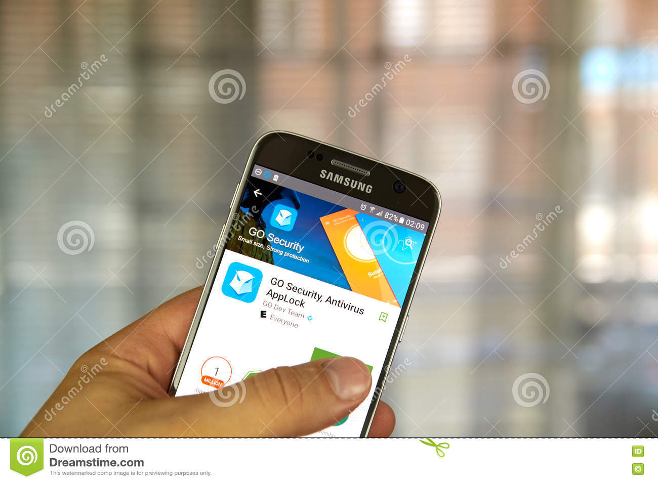 Go Security App Editorial Photography Image Of Logo 73655762