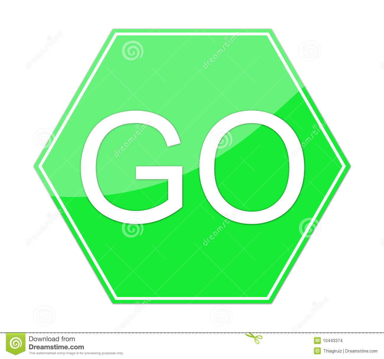 Go Sign Clip Art