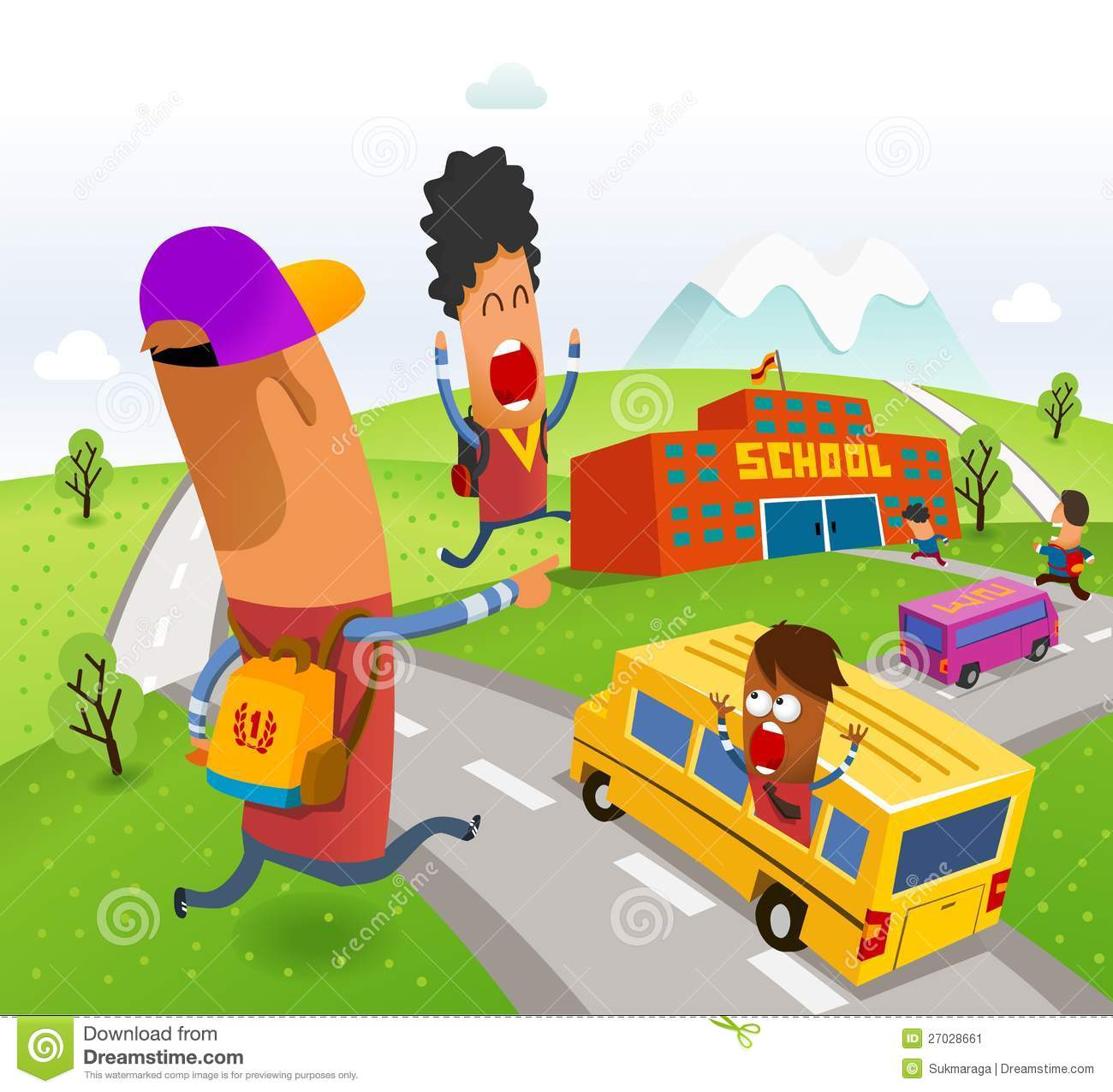 Displaying 17> Images For - Going Home From School Clipart...