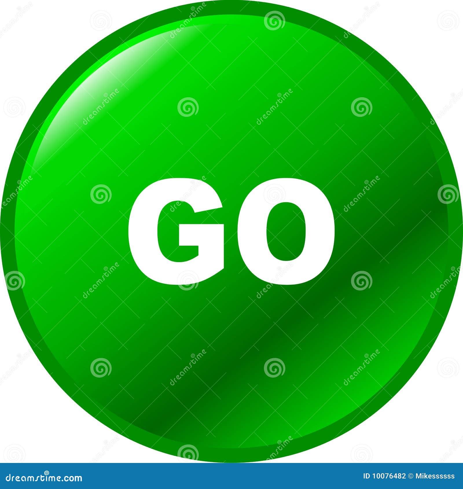 Go vector green button stock photography image 10076482 - Green button ...