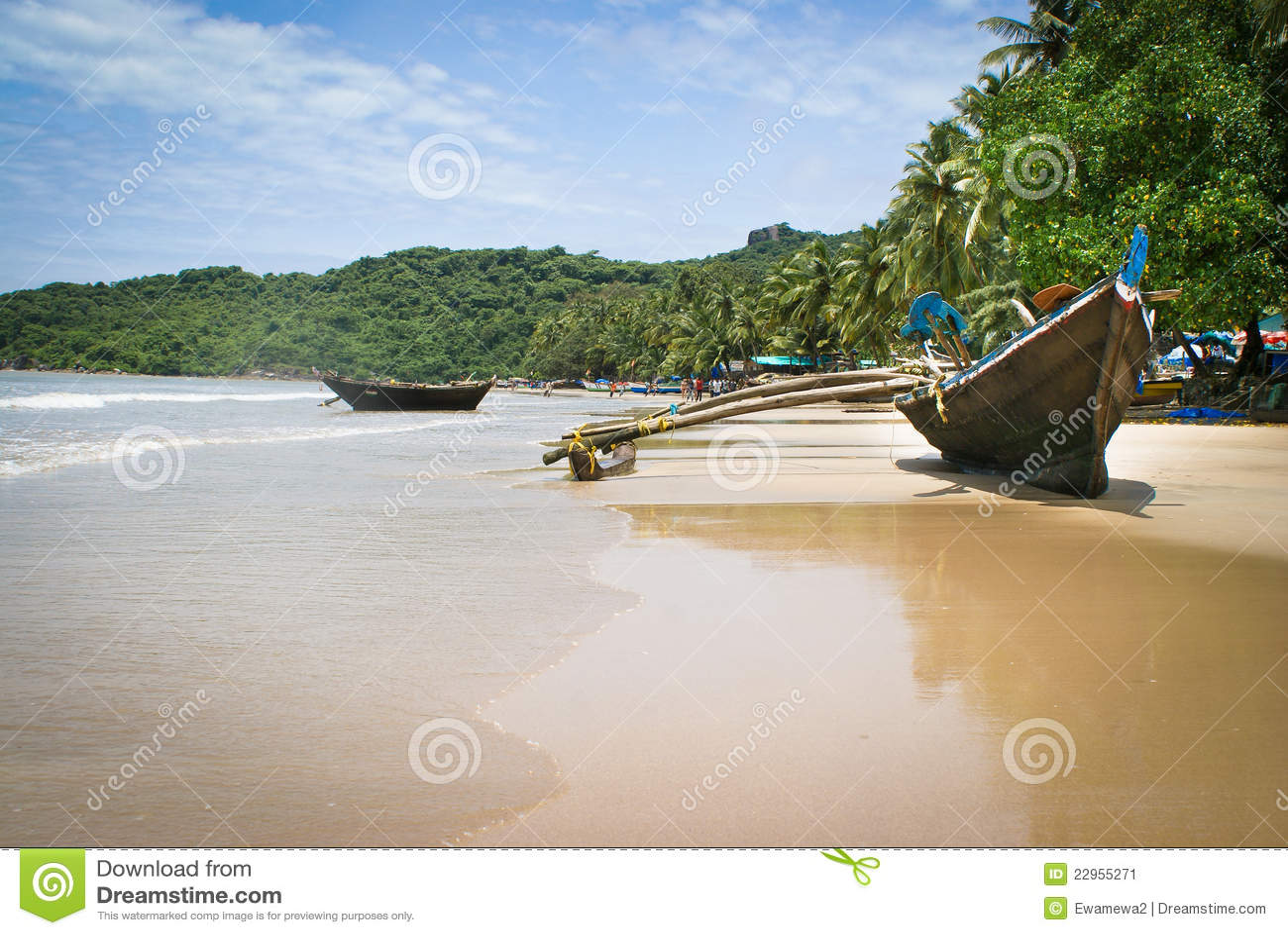 Goa βαρκών παλαιό