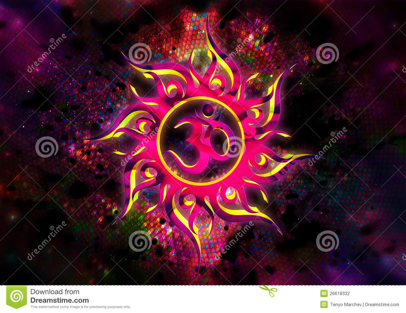Goa Trance Abstraction Stock Photography - Image: 26618332