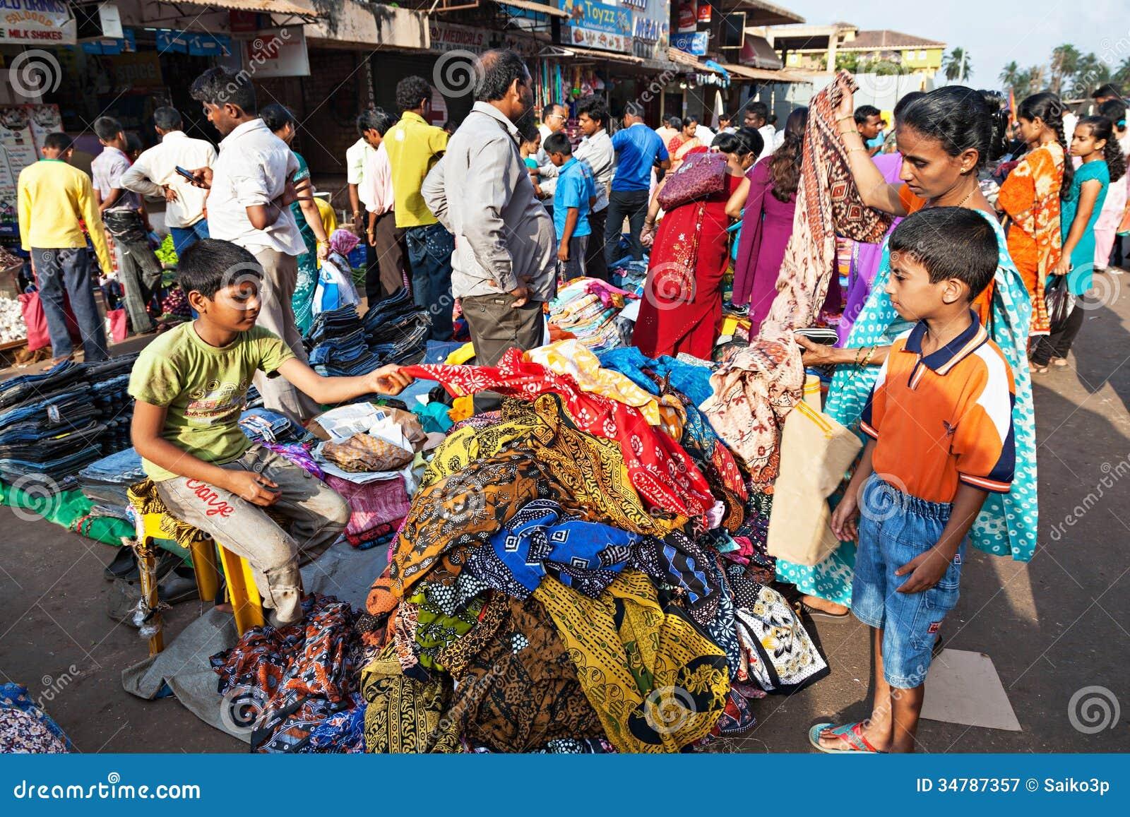 Goa Market Editorial Photography Image 34787357