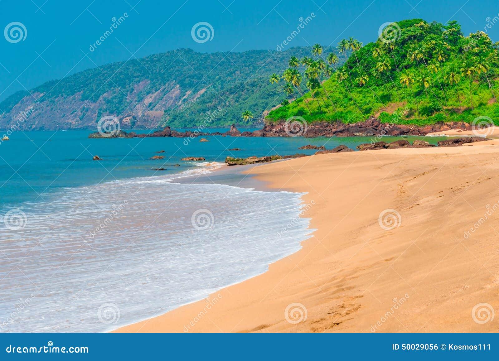 Goa plaża