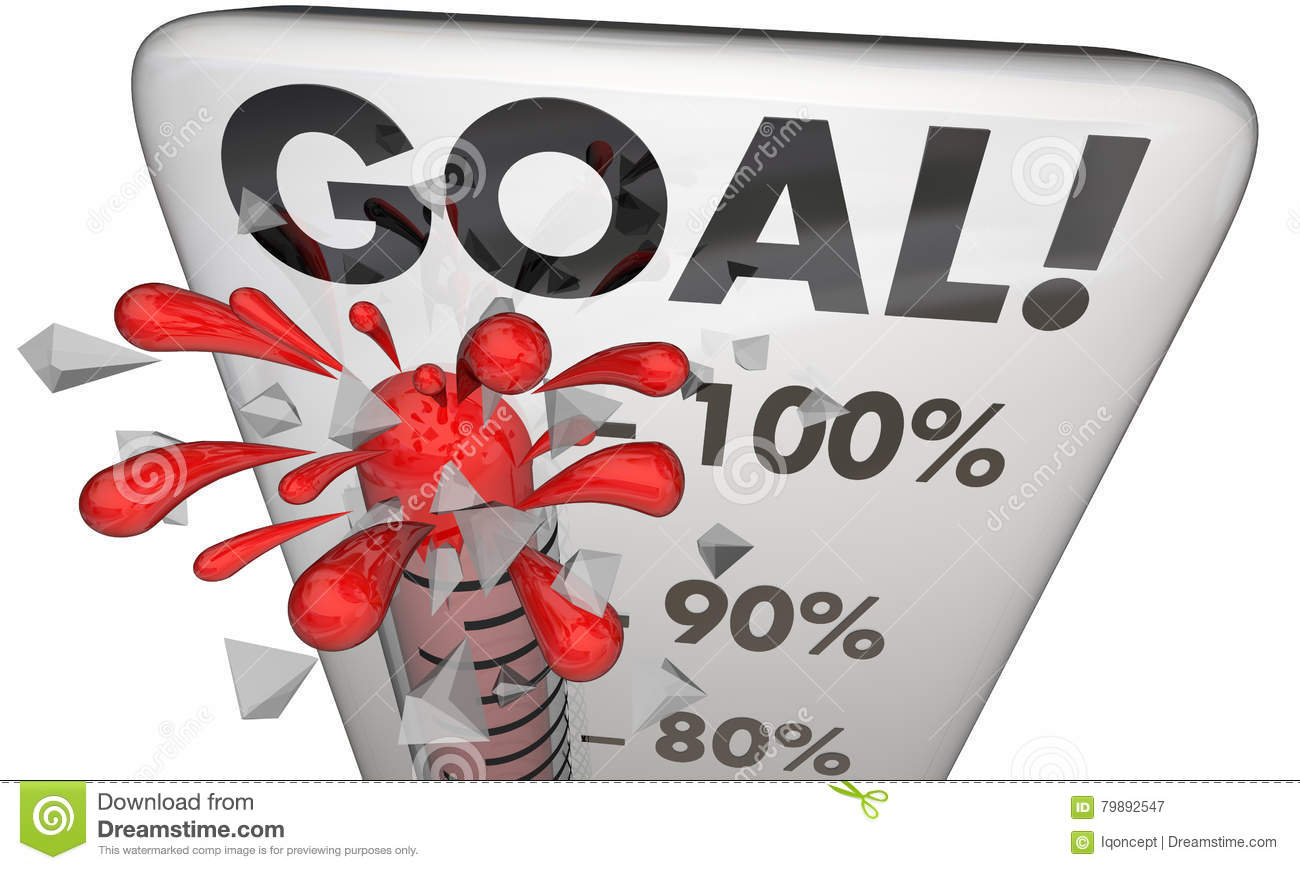 goal achieved 100 percent results met thermometer stock free thermometer clip art for fundraising Downloadable Fundraising Thermometer