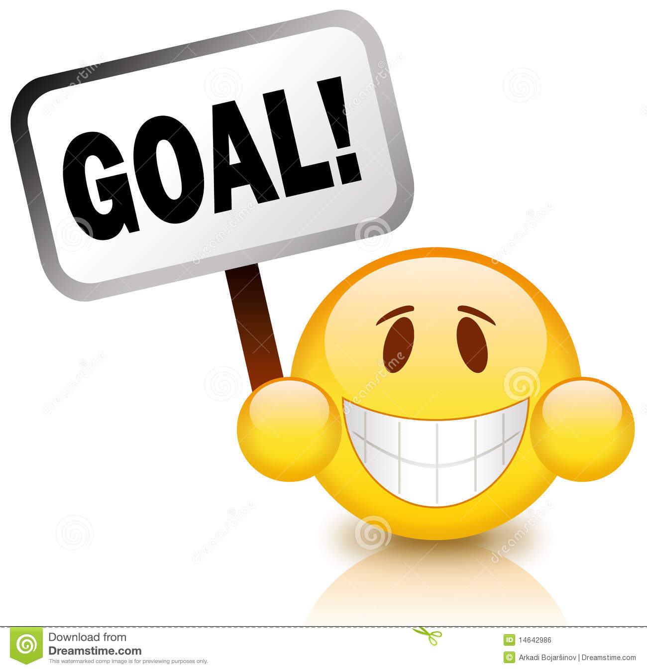 Goal Icon Royalty Free Stock Image - Image: 14642986