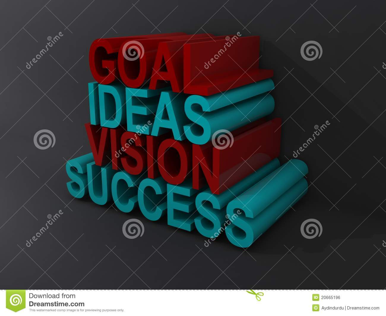 Goal Ideas Vision Success Royalty Free Stock Image - Image ...
