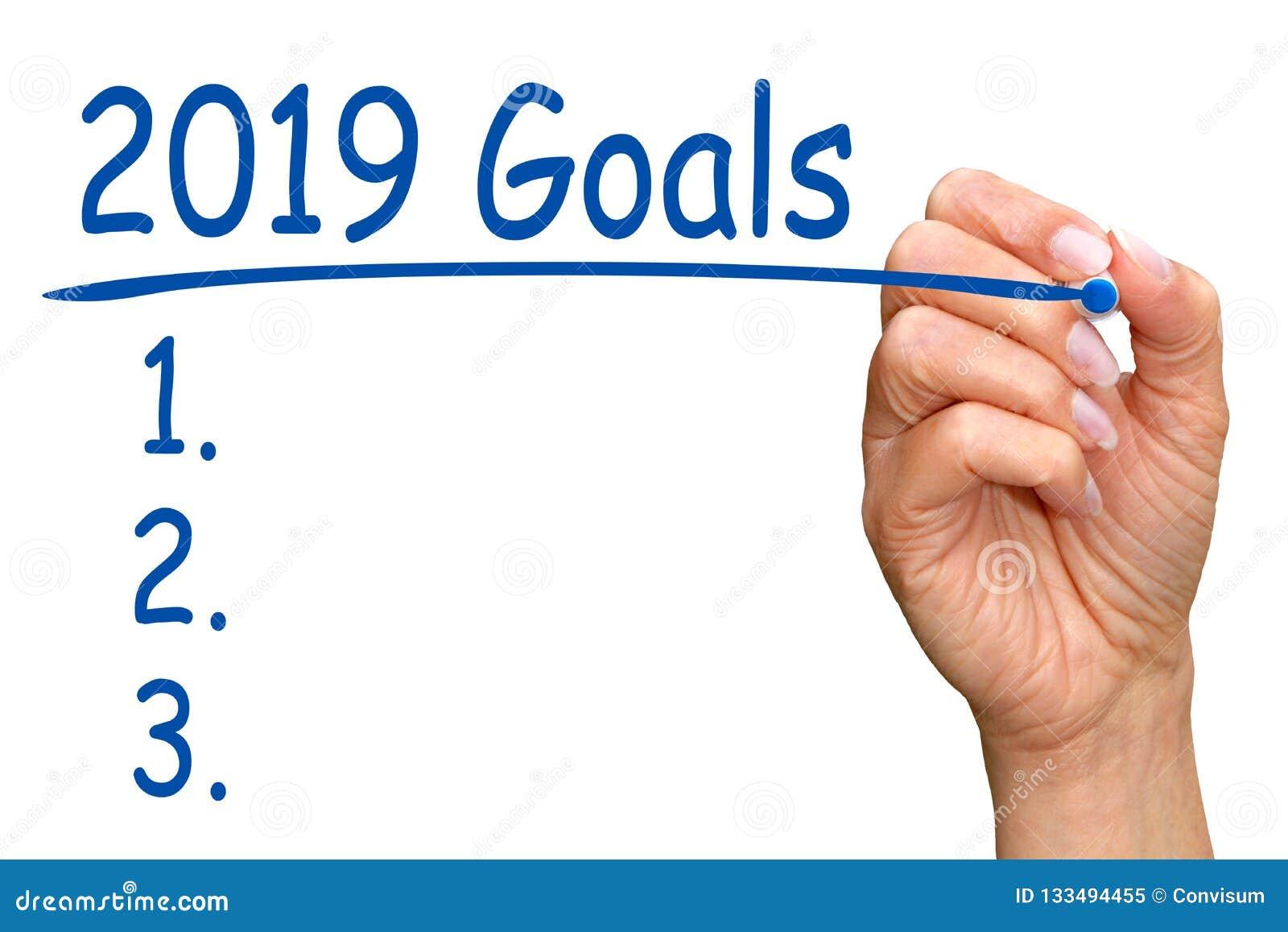 2019 Goals and Checklist