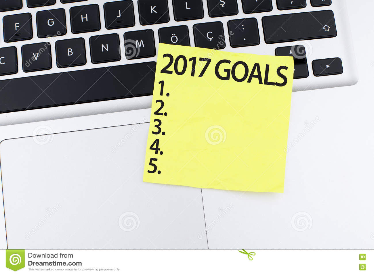 goals 2017 new year growth plan list stock photo image 80357773 goals 2017 new year growth plan list