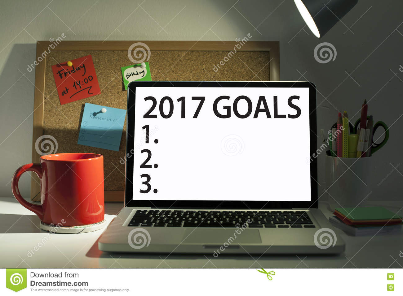 goals for new year stock photo image  goals for new year 2017 list concept stock photos