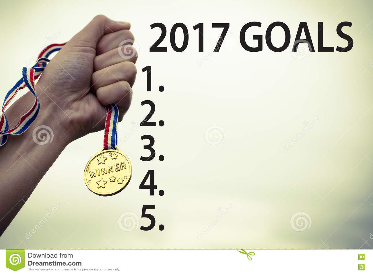 goals for new year list concept stock photo image  goals for new year 2017 motivational success concept royalty stock photography
