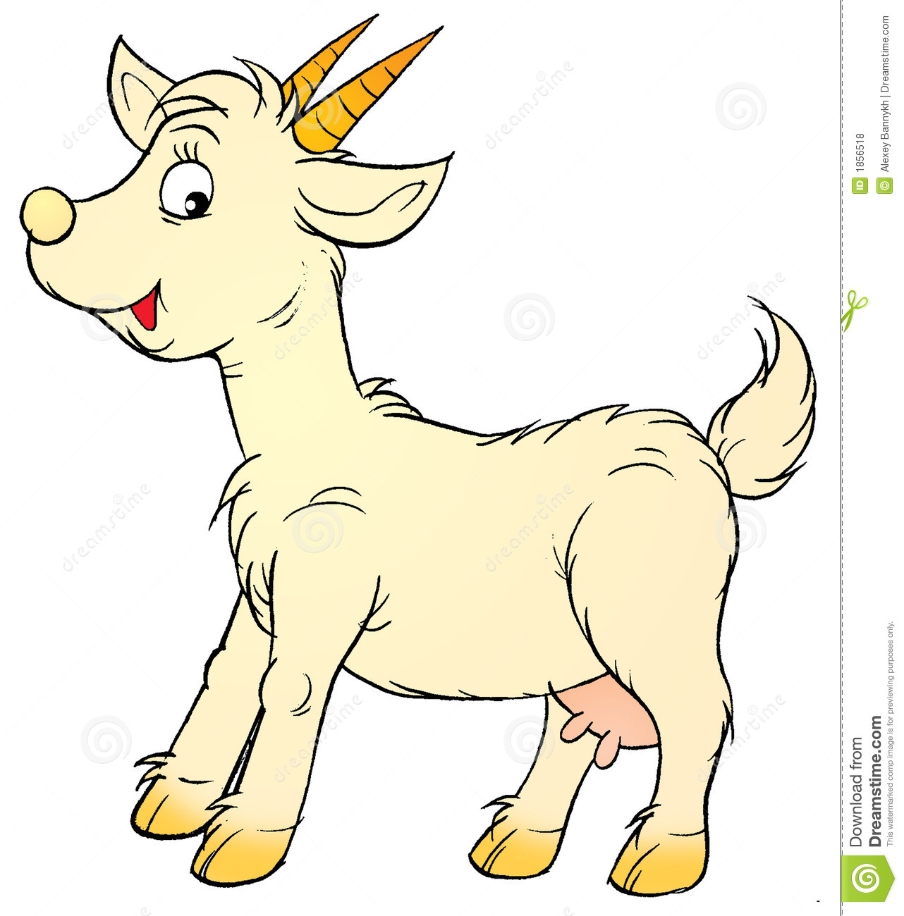 Goat Royalty Free Stock Photos - Image: 1856518