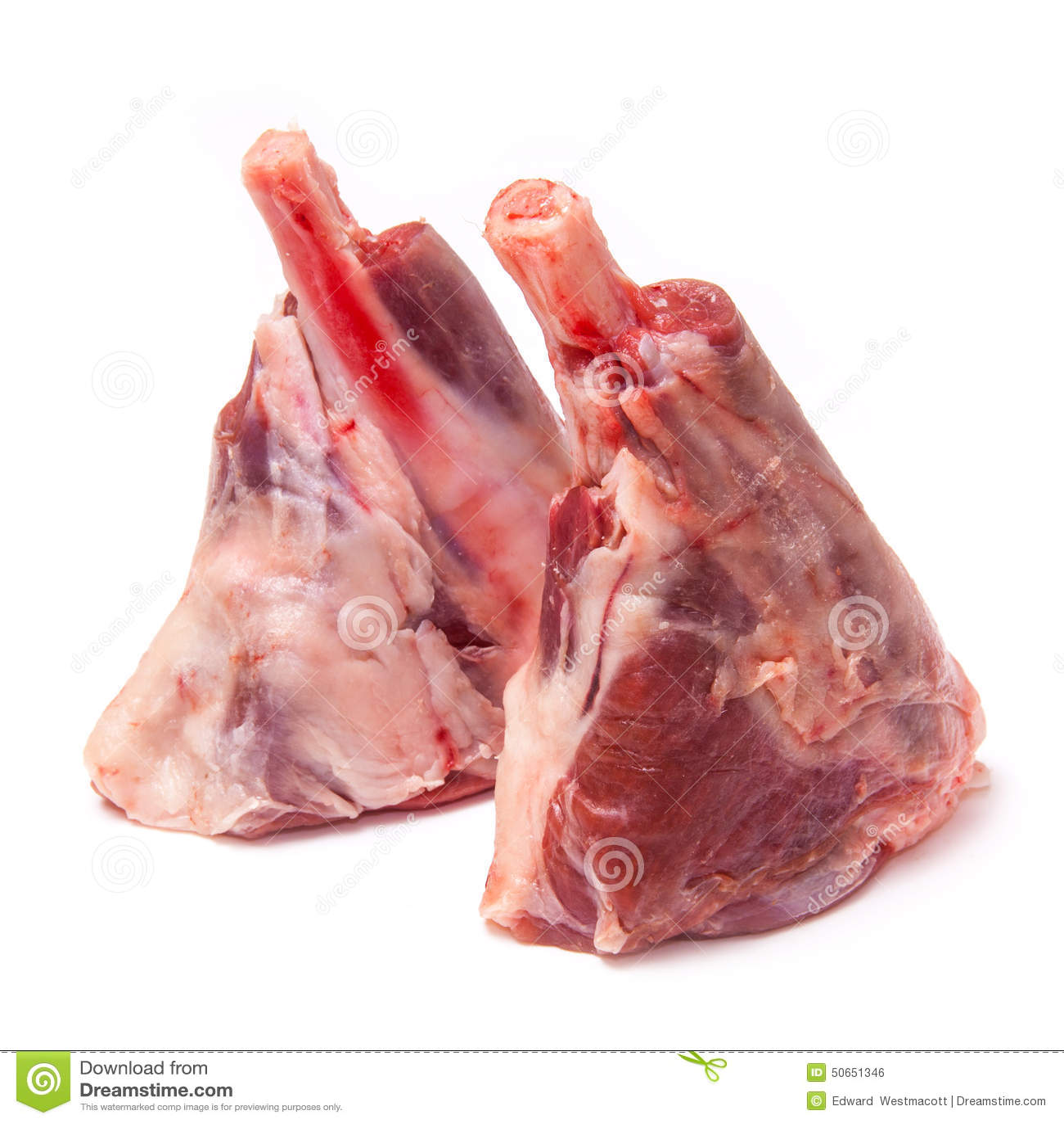 Goat meat shanks