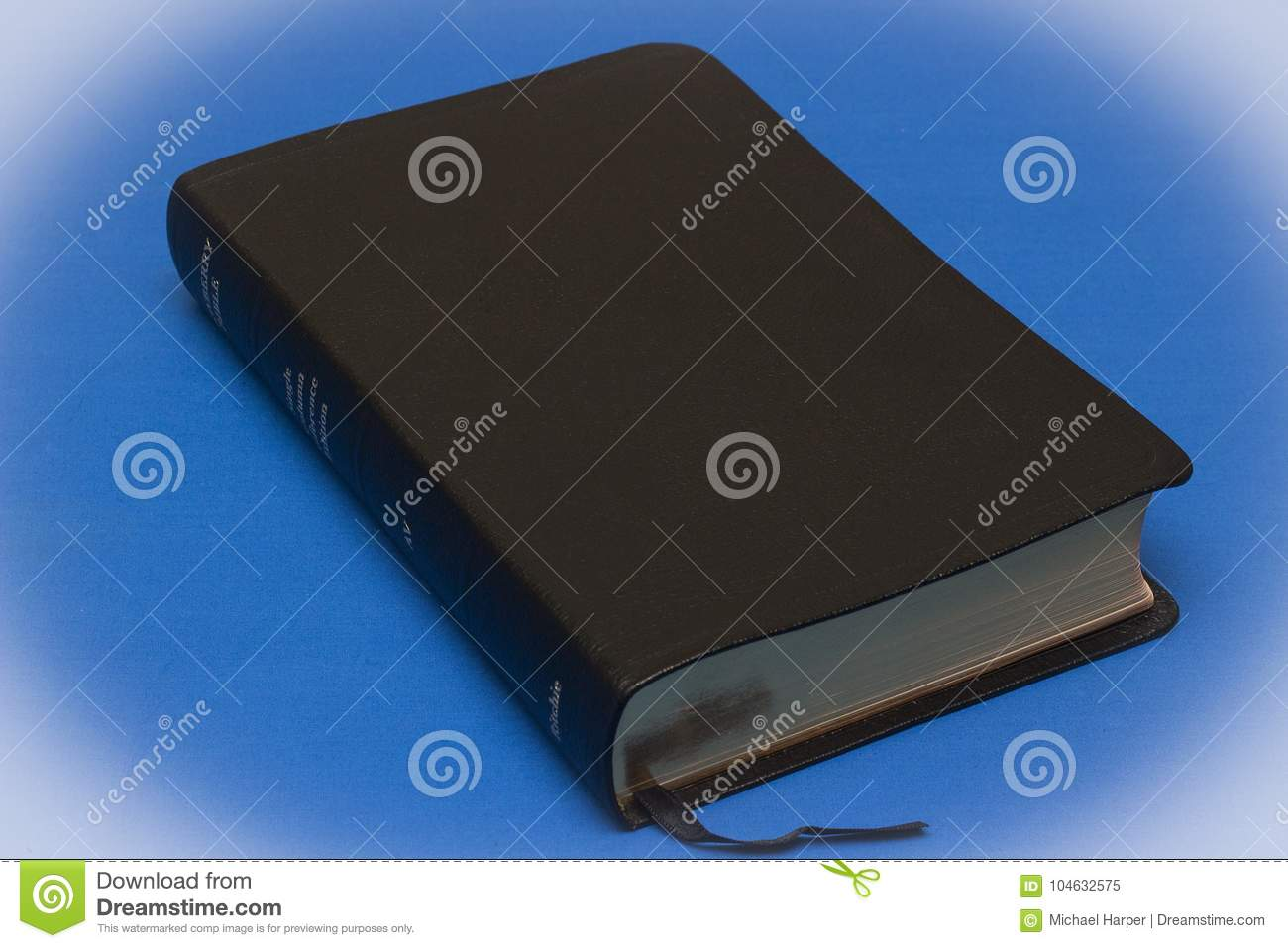 A Goatskin Leather Bound Newberry Version Of The King James Bible