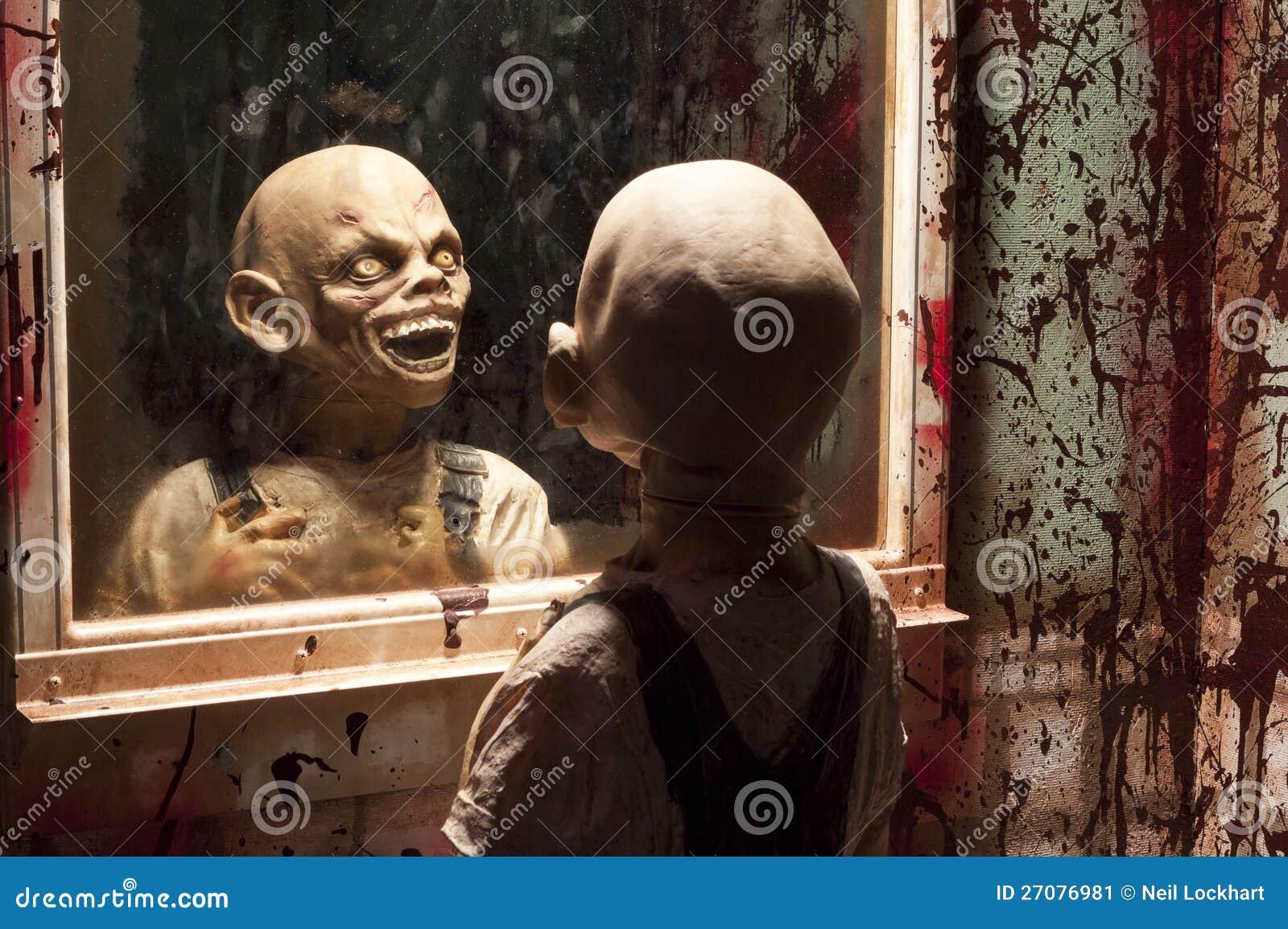 Goblin In Mirror Stock Image Image 27076981