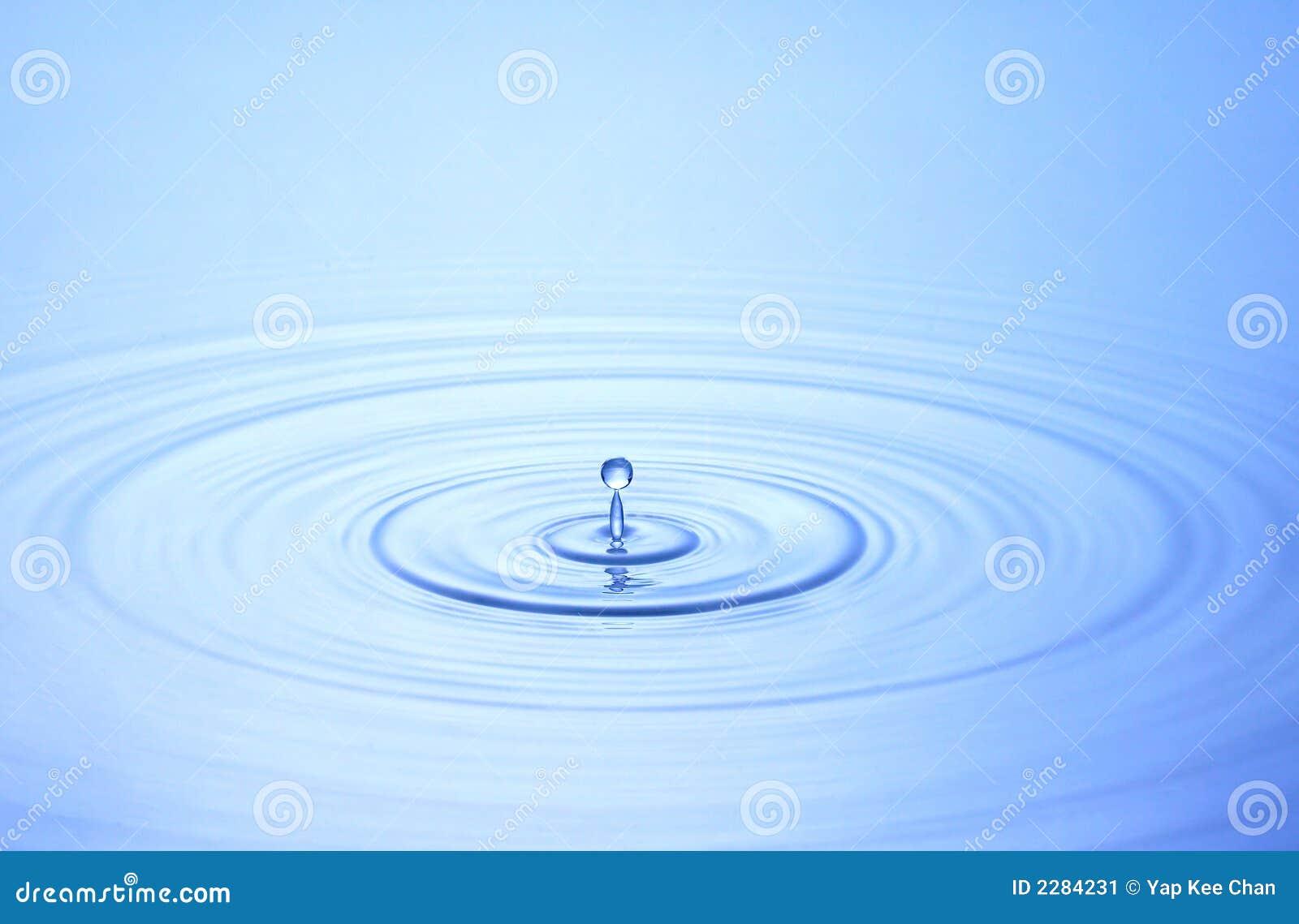 Goccia dell acqua