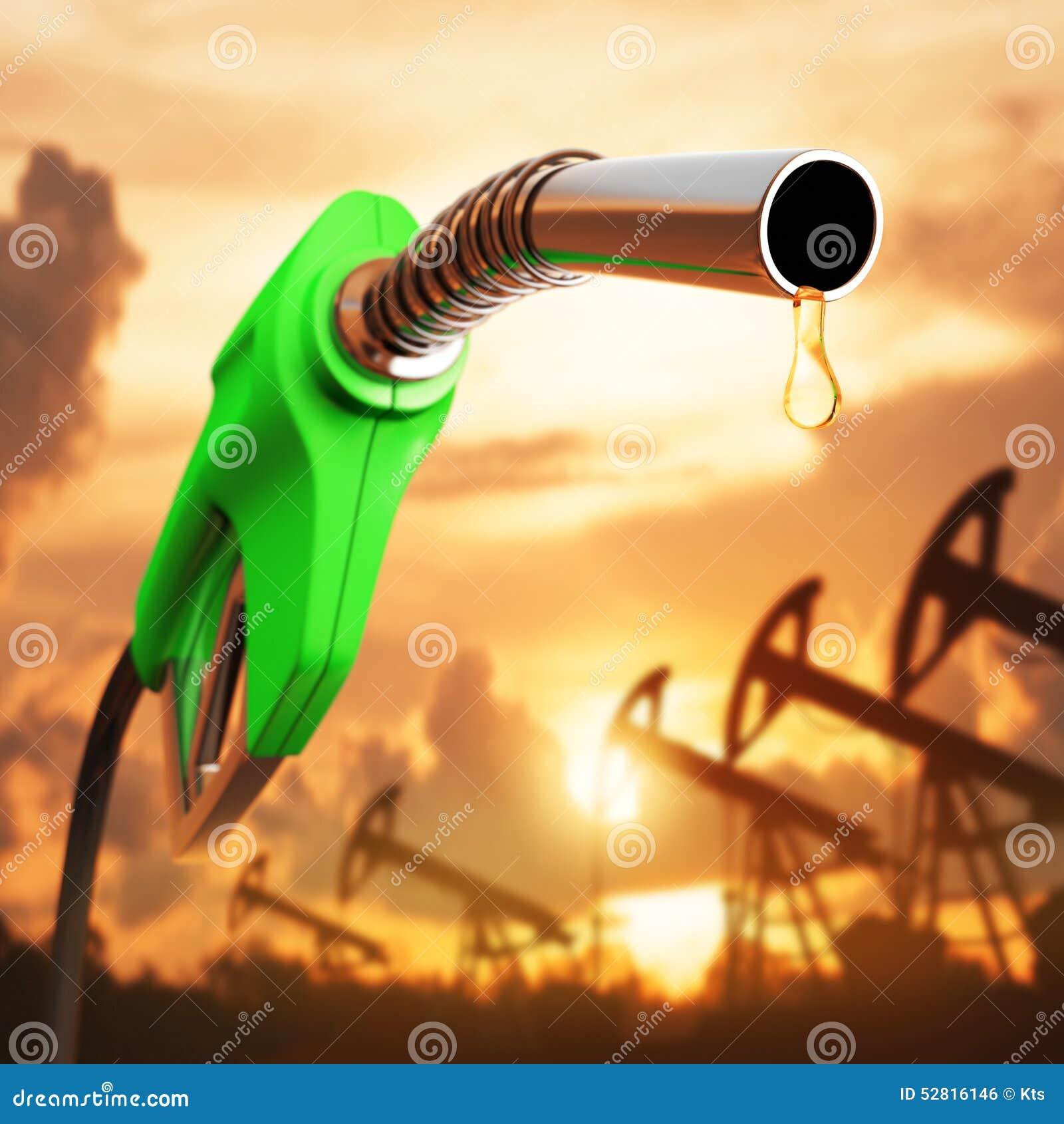Goccia della benzina