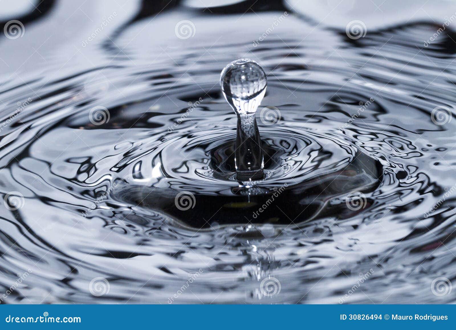 Gocciolina di acqua