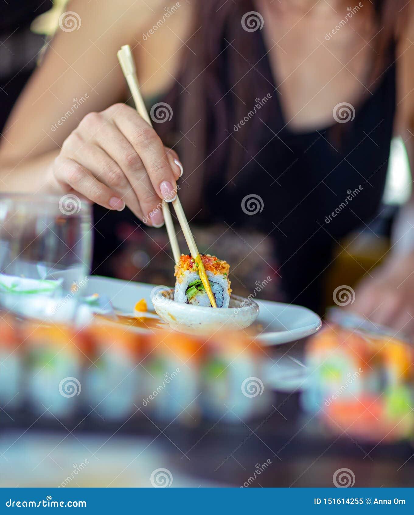 Goce del sushi