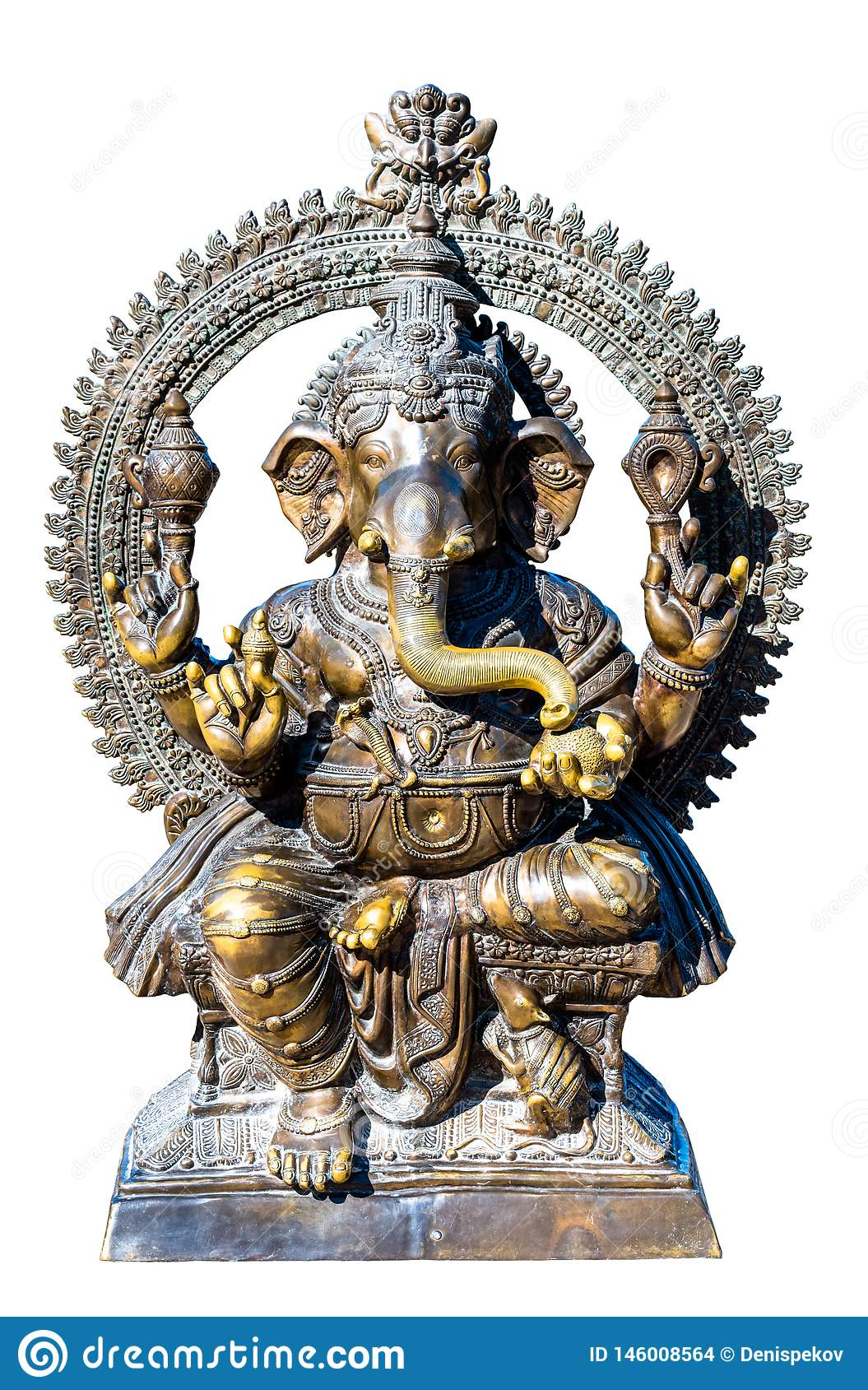 God Ganesh  bronze sculpture