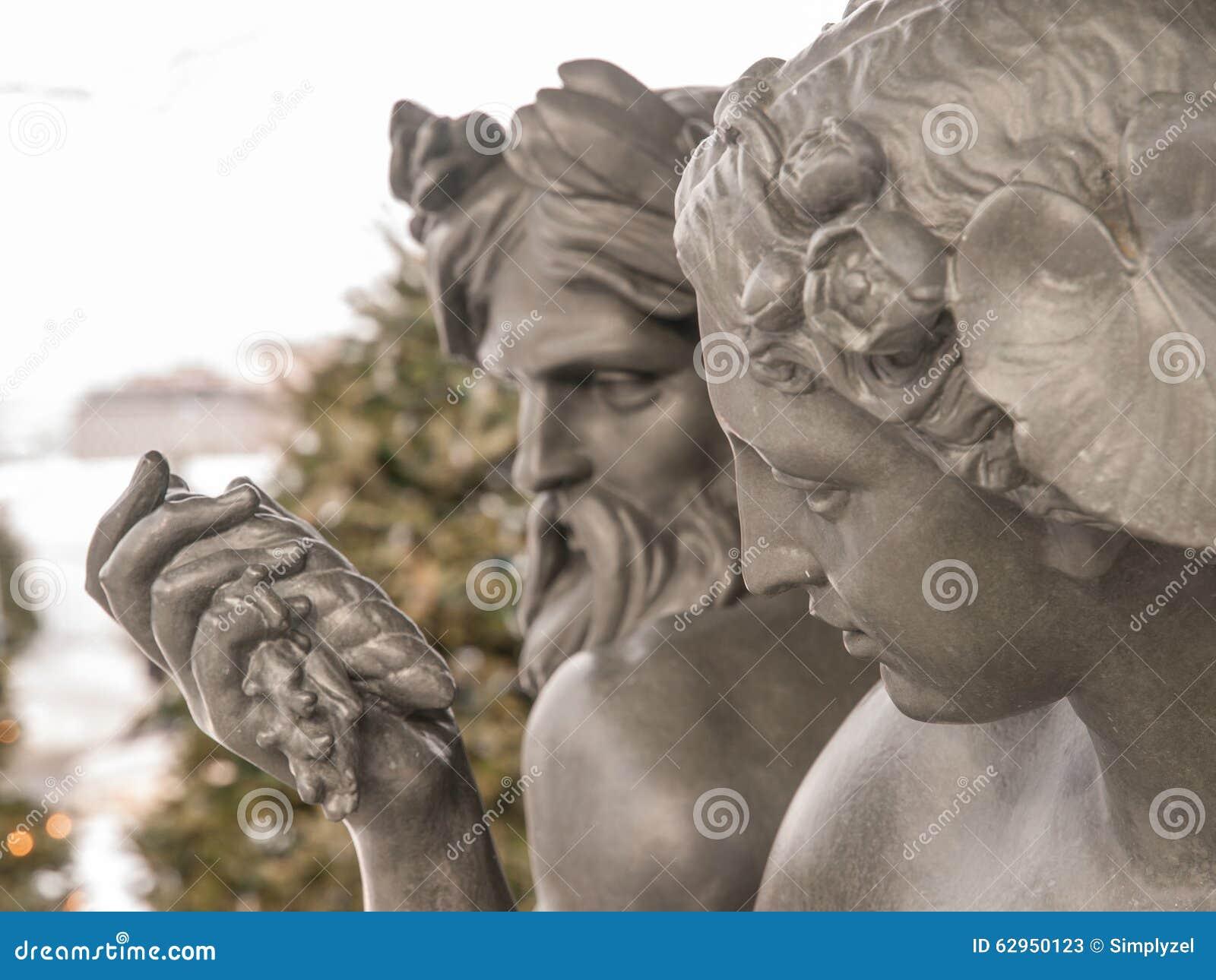 God and goddess statue stock photo image 62950123 - God and goddess statues ...