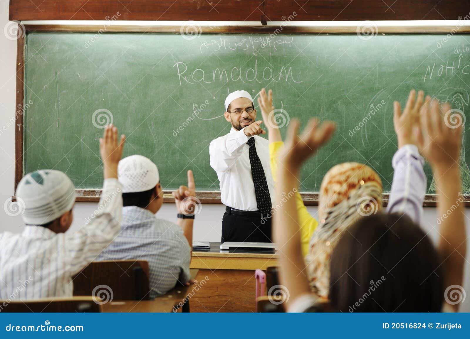 God lärare för klassrum