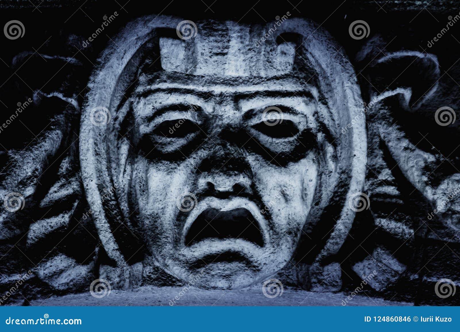 God van de Griekse mythologie van vreesphobos