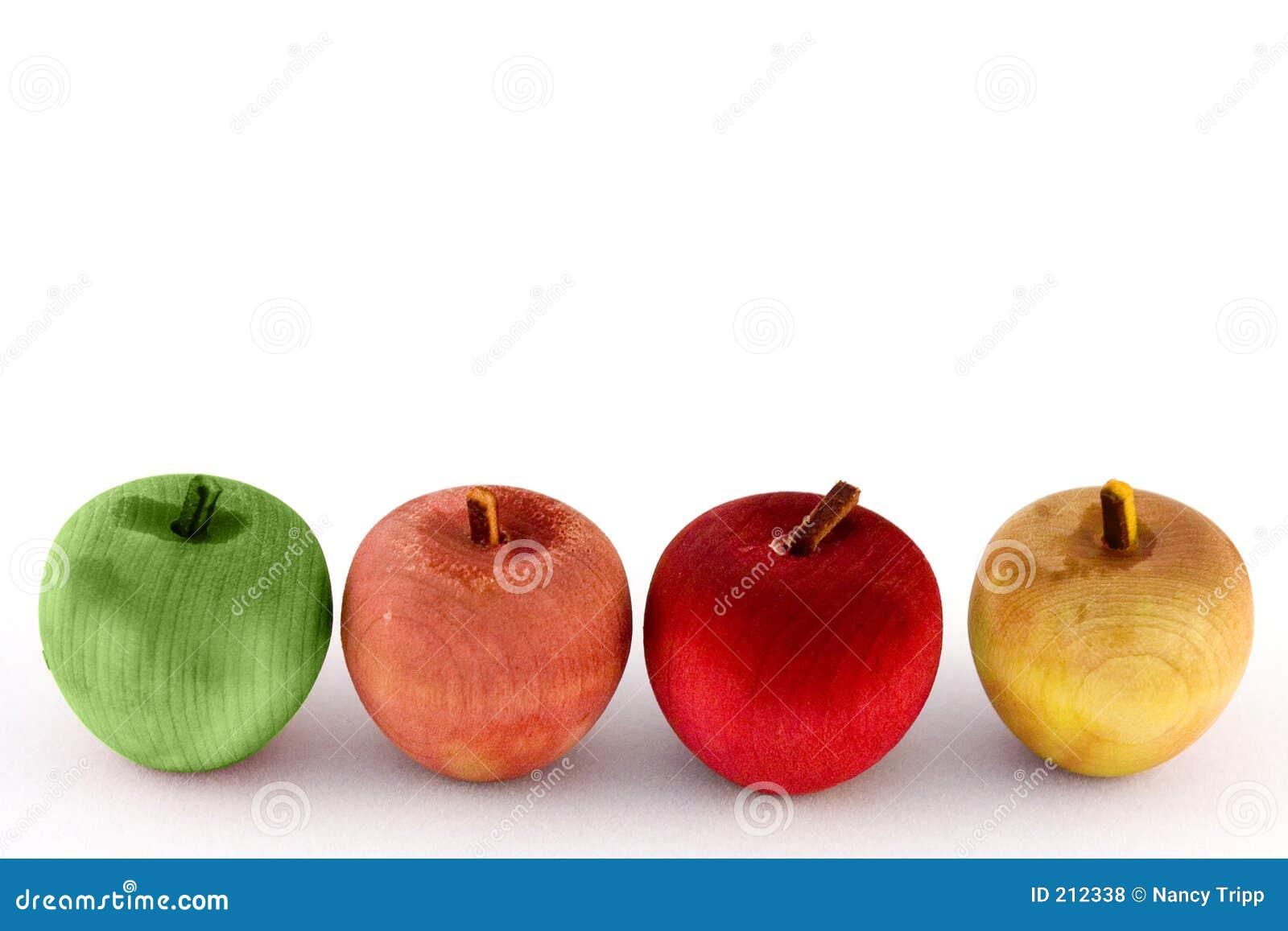Goda äpplen fyra