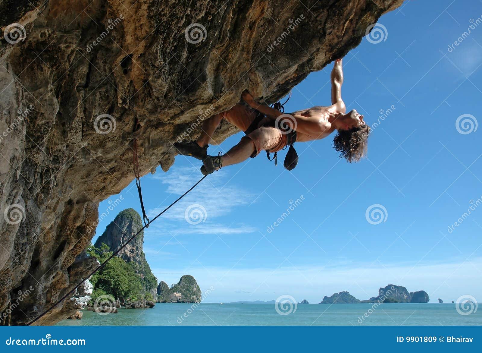 Goda di di arrampicarsi!