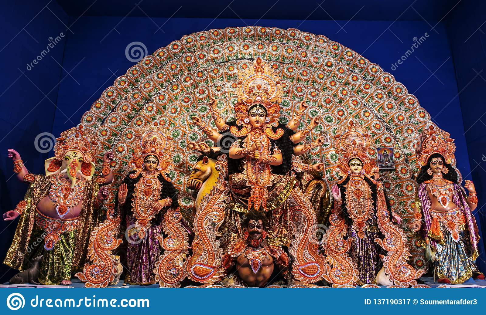 Goddess Durga: Durga Puja is the one of the most famous festival celebrated in West Bengal, Assam, Tripura.
