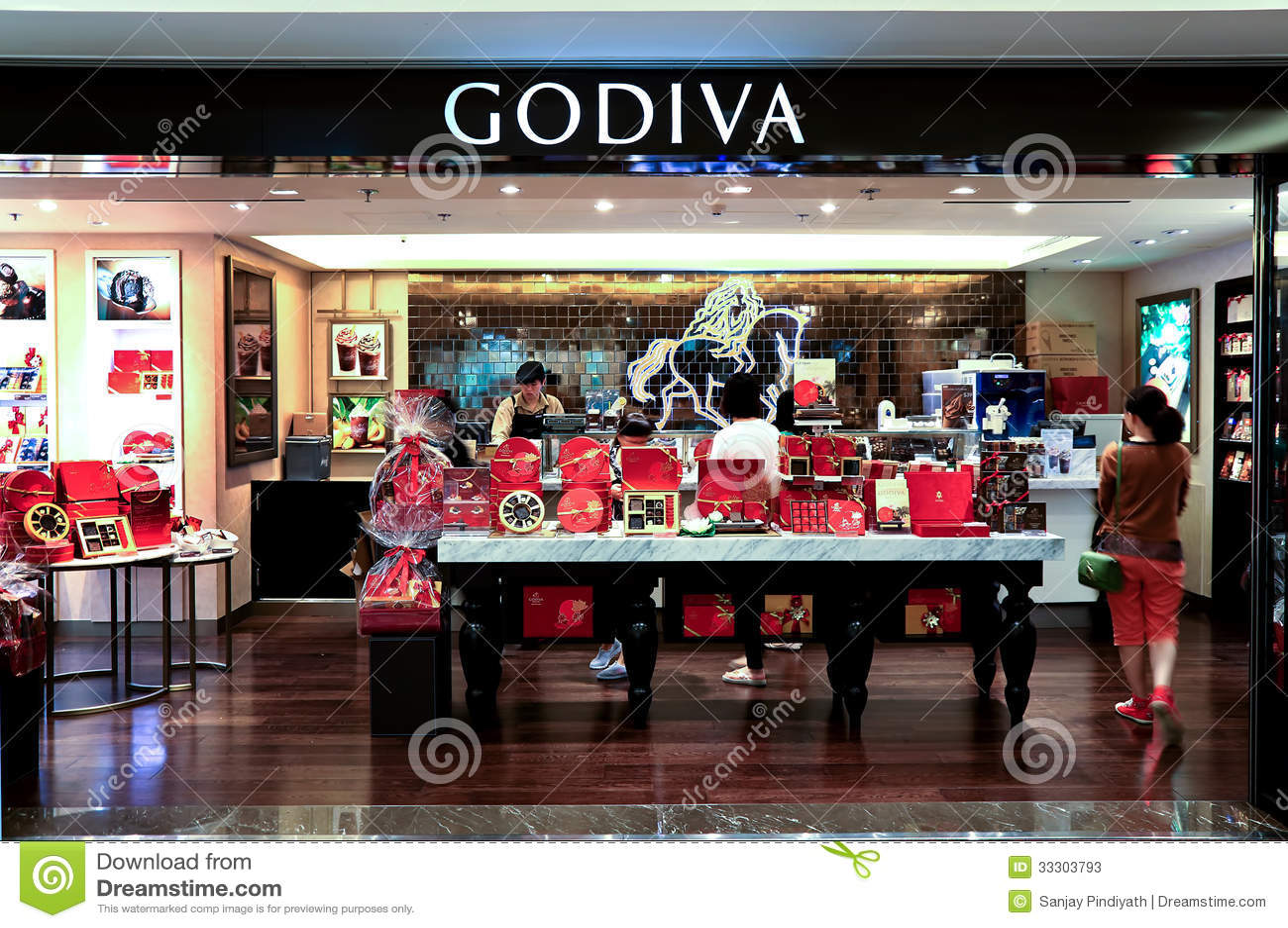 Godiva Chocolate Shop Editorial Stock Photo - Image: 33303793