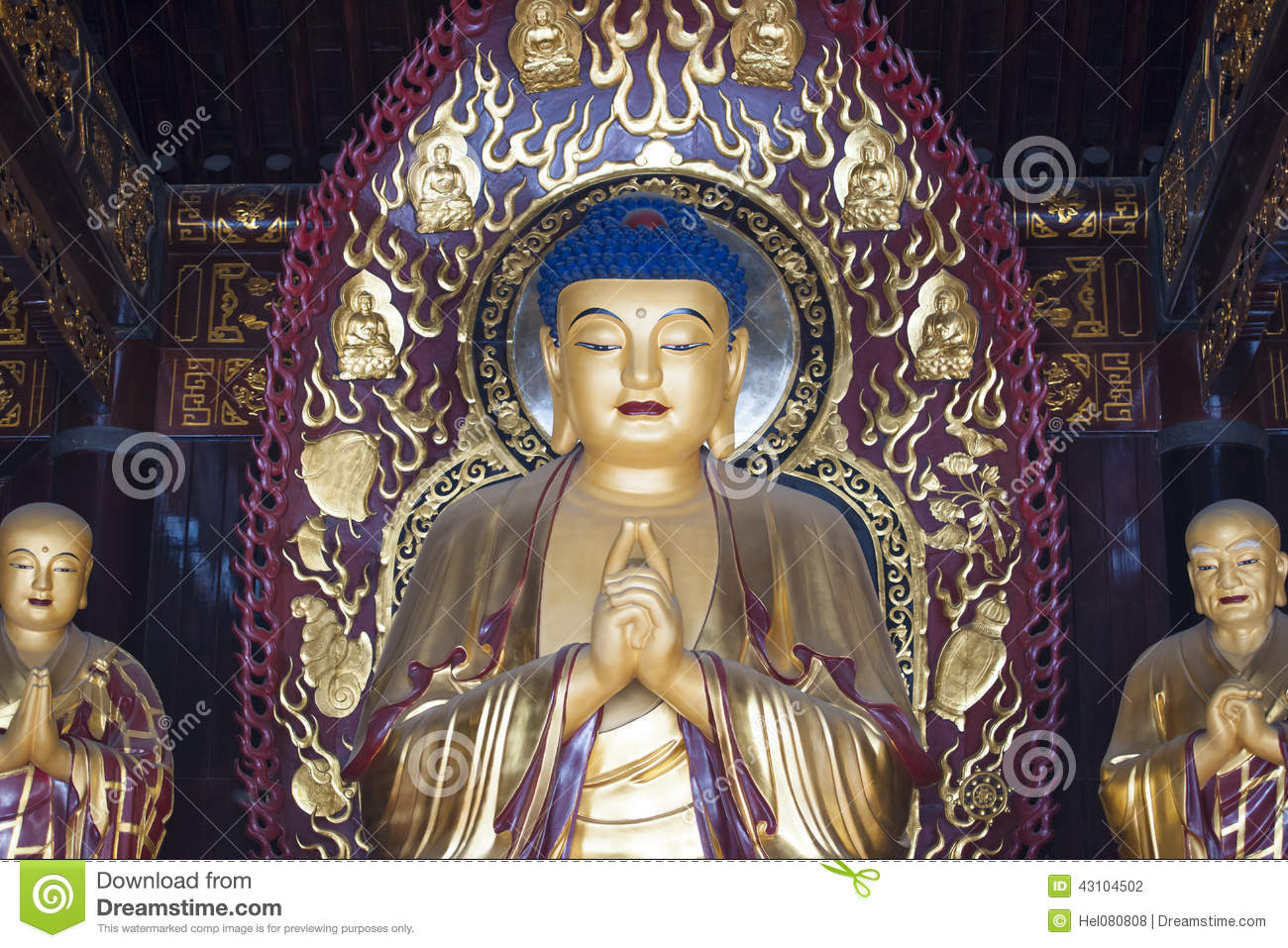 Godness in Chinese tempel