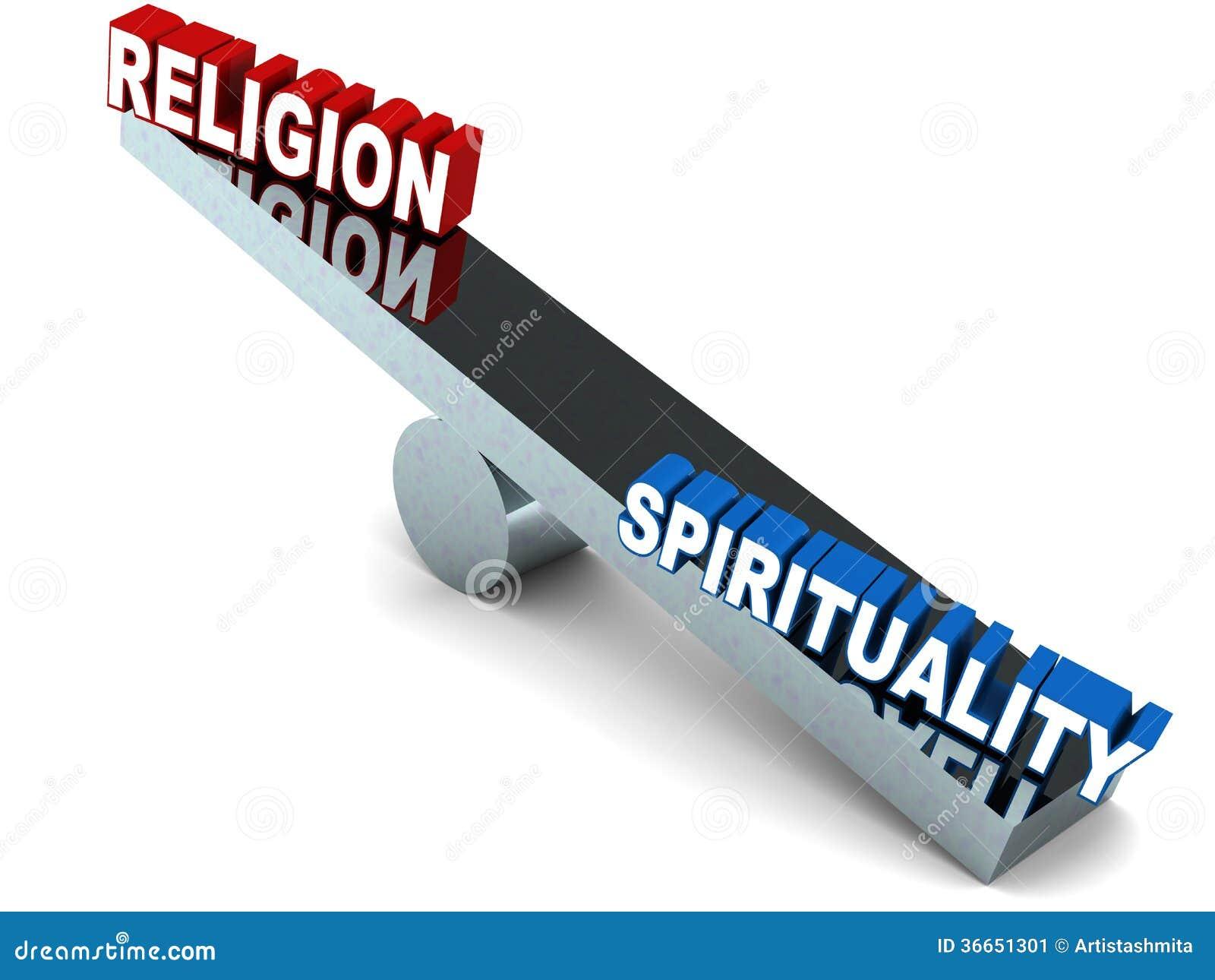 Godsdienst versus spiritualiteit