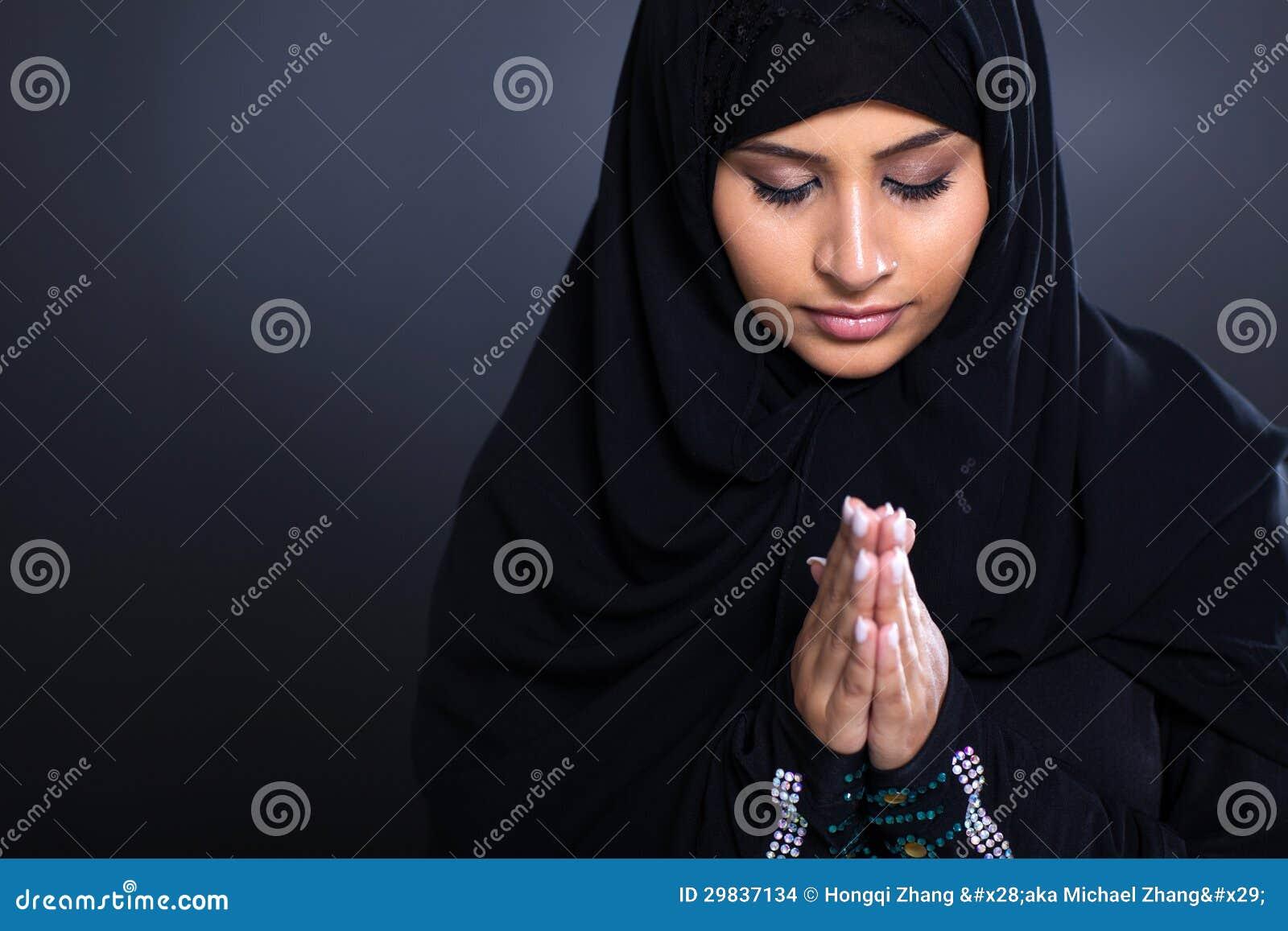 Het moslim vrouw bidden