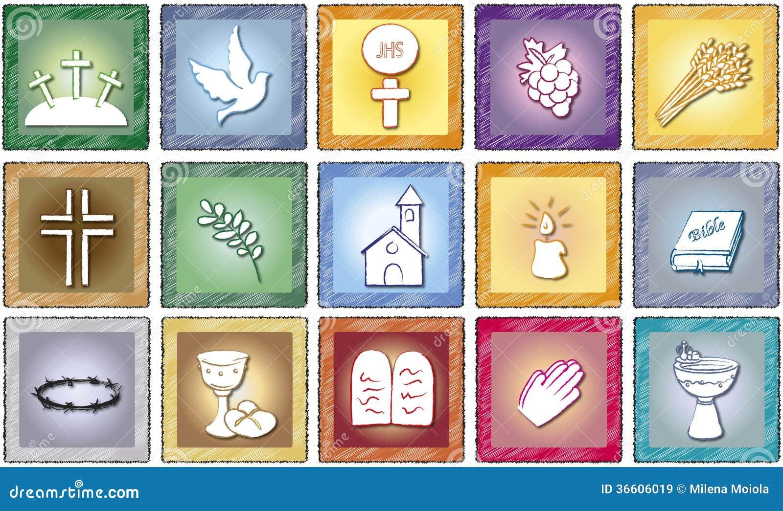 Godsdienstpictogrammen