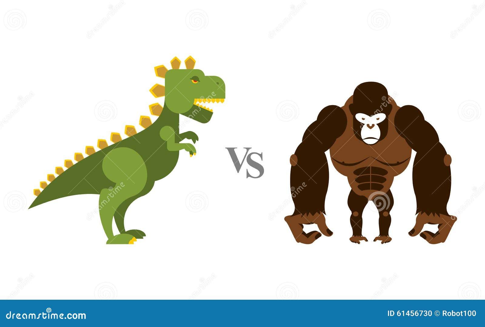 Godzilla contro re Kong Mostri di battaglia Grandi scimmia e cicatrice selvagge