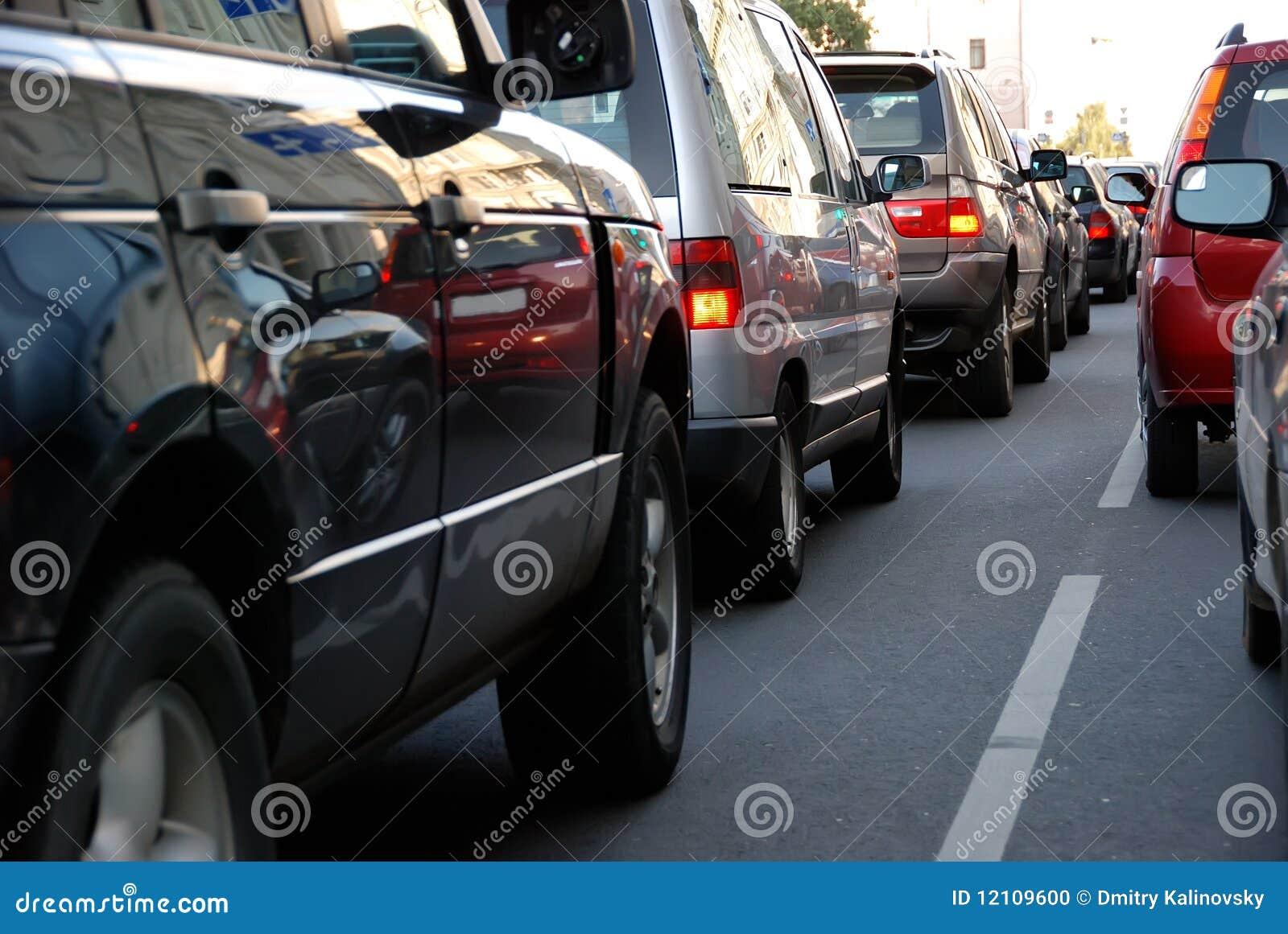 Godzina pośpiechu ruch drogowy