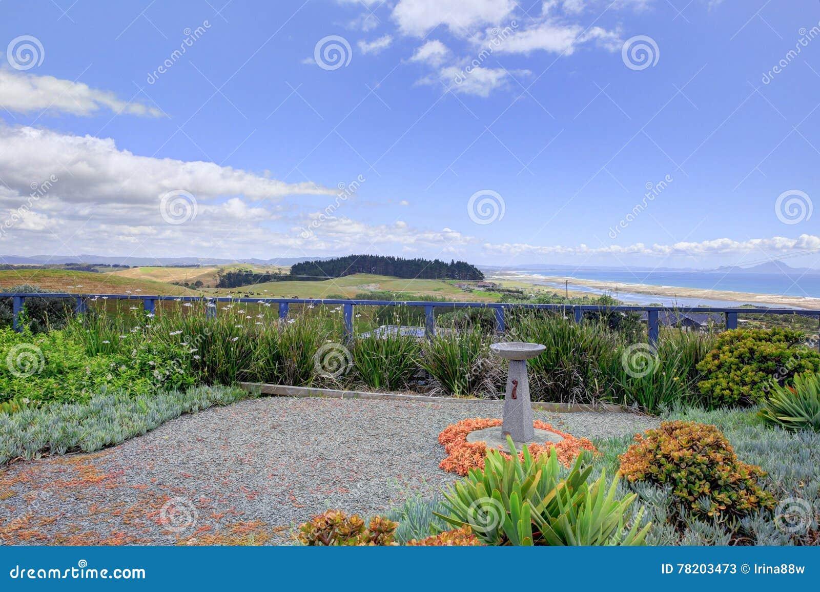 Goed gehouden Voorwerf van Aurora Lodge Waipu, NZ