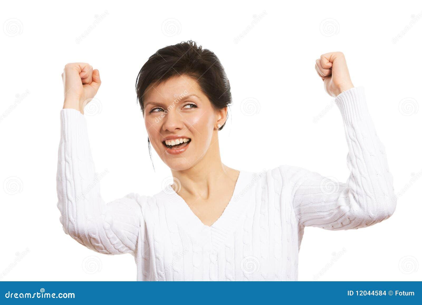 Goed nieuws stock foto afbeelding bestaande uit achtergrond 12044584 - Secretaresse witte ...